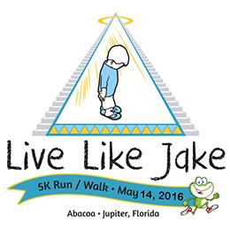 2016 Live Like Jake 5K Run Walk logo 260×270