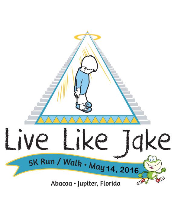 2016 Live Like Jake 5K Run Walk logo