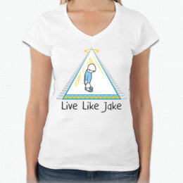 Live Like Jake™ Women's V neck
