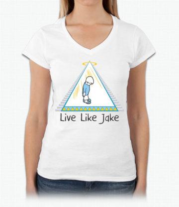 Live Like Jake™ Women's V neck