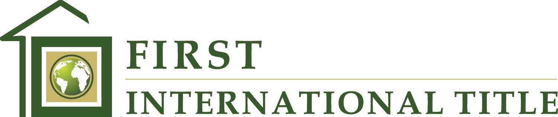 First International Title