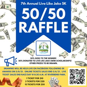 50_50 raffle flyer